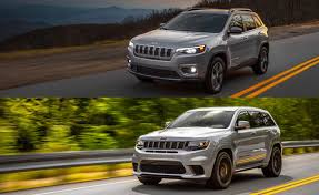 Jeep Grand Cherokee Trim Comparison Chart Jeep Cherokee Vs Grand Cherokee Which Jeep Suv Is Right For