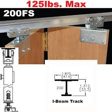 picture of 200fs side mounted bi fold door hardware