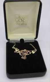lot 1045 a 9ct clogau gold necklet 7