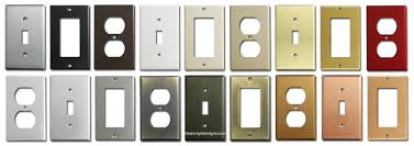 outlet and switch covers.  Covers SwithPlatesOutletCoversAllFinishes On Outlet And Switch Covers H