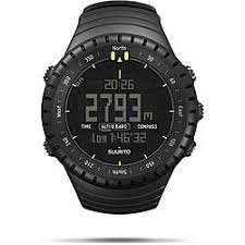 carbon fiber watches overstock com the best prices on designer suunto core men s all black altimeter watch