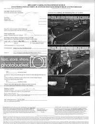Red Light Photo Ticket Red Light Camera Offence Ticket Ohta Ca