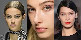 makeup trends to steal from springsummer 2018 runway