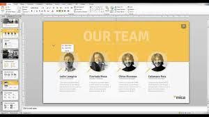 Presentation Template Powerpoint Mica Powerpoint Presentation Template