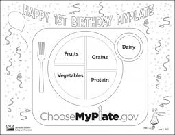 Small Picture myplate coloring page 28 images myplate coloring pages to use