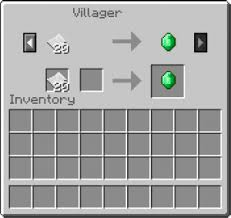 Villager Trade Chart Minecraft Villager Trading Charts And Dye Crafting Guide