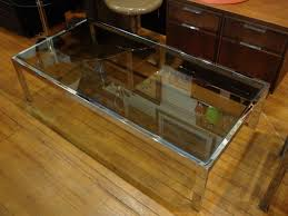 glass box black glass coffee table with chrome legs round glass black glass and chrome coffee