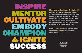 resident assistants housing at purdue university ra recruitment