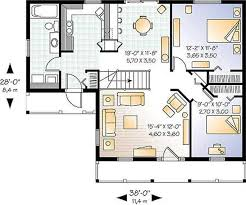 small farmhouse plans with open floor plans