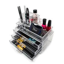 acrylic makeup storage case