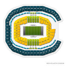 New Orleans Mercedes Benz Superdome Seating Chart 19 Awesome Mb Stadium Atlanta