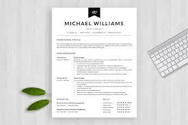 Modern Resume Template Michael Bonus