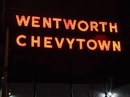 Wentworth Chevytown Neon Signs Wentworth Neon