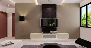 wall units in living room