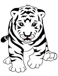 Coloring books for boys and girls of all ages. New Coloring Tiger With Cubs Coloring Pages Kids Coloring