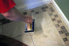 Bathroom Tile Installers How To Lay Tile In A Bathroom