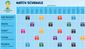 Brazil World Cup Dates 2014 Worldcup