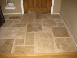 Once Upon A Cedar House: Installing Travertine Tile In The Kitchen   Part 1