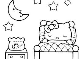Hello Kitty Colouring Sheets Free Hello Kitty Coloring Pages Color
