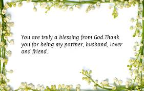 Thank You Messages For Husband Romantic Lovely Wishesmsg