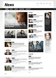 Newspaper Html Template News Portal Responsive Joomla Template 52025