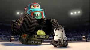 New Cars Toon : Monster Truck Mater