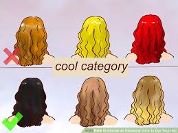 Unnatural Hair Color Chart 6 Ways To Choose An Unnatural Color To Dye Your Hair Wikihow