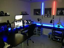 decorative l shaped gaming desk