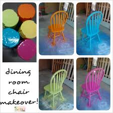 Colored Dining Room Sets 1000 Images About Painted Dining Room Table And Chairs On