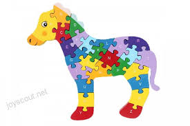 dd wooden jigsaw puzzles winding horse toys for preschool letter numbers puzzles educational toys for