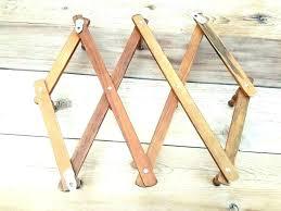 expandable peg rack expanding peg rack expandable wood wooden peg wall hat coat mug rack designs