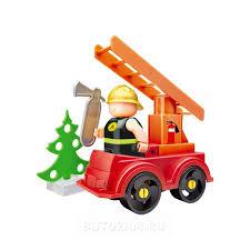 Купить <b>Конструктор Bauer Fireman Пожарная</b> машина