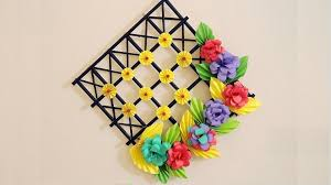 diy wall decoration ideas with paper craft ways to decorate your home with paper crafts
