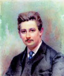 Portrait de Marcel Dupré peint, à l'huile, en 1907, par Jeanne Salomé, amie de la famille Dupré, - bull19