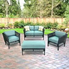 hampton bay outdoor chair cushions replacement cushion set hampton bay outdoor lounge chair cushions