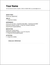 How To Write A Simple Resume Format - Resume Sample