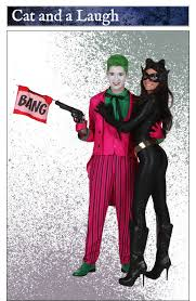 joker and catwoman costume idea