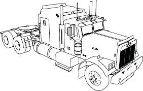Construction Trucks Coloring Pages Free Printable Truck Coloring
