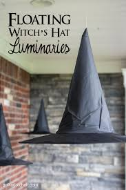 diy halloween decorations home. Floating-witch-hat-luminaries Diy Halloween Decorations Home I