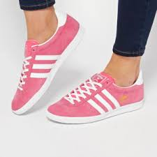 Adidas Gazelle Trainers Pink