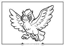 Pidgey Kleurplaten Gratis Printen Kleurplaat Pokémon