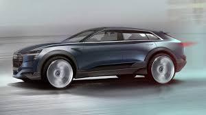 2018 audi electric car. interesting electric audi etron quattro concept allelectric suv set for 2018 production throughout audi electric car