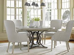 dining room oyster bay calerton round dining table lexington home room tables with leather chairs sets