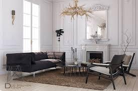 modern living room tutorial by duc nguyen free 3d model