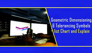 Geometric Dimensioning And Tolerancing Symbols List Chart