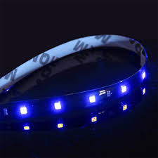 Adhesive Light Strips Details About 2x 1ft Blue Led Light Strips Flexible Bright Adhesive Tape 12v Car Truck Van Suv