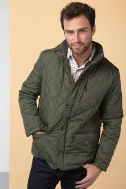 Rydale Mens Wetherby Diamond Quilted Jacket & Dark Olive - Wetherby Quilted Jacket Adamdwight.com