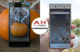 Phone Comparisons Google Pixel 2 Vs Sony Xperia Xz1