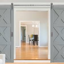 glasscraft model mdf triple x barn door