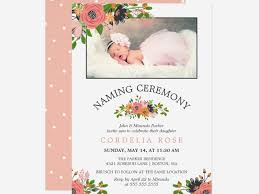 Free 15 Naming Ceremony Invitation Designs Examples In